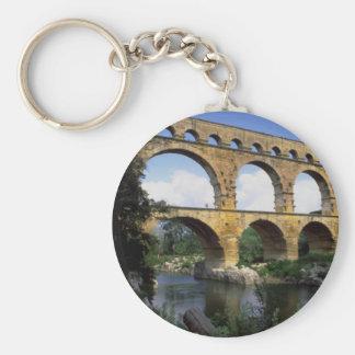 Pont du le Gard Porte-clé Rond