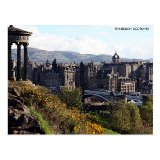 Pont du nord, carte postale d'Edimbourg avec la