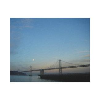 Pont en Baie de San Franciso Impression Sur Toile
