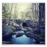 Pont en pierre de voûte, Hillsboro New Hampshire Photographie