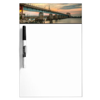 Pont en train de Rockaway Tableaux Blancs Effaçables À Sec