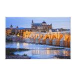 Pont et cathédrale romains de la Mezquita à Impressions Sur Toile