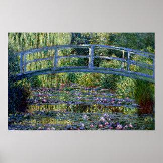 Pont japonais - Pont Japonais - par Claude Monet Poster