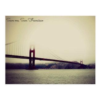 Pont la Californie de San Francisco de voyage de Cartes Postales