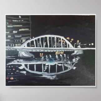 Pont la nuit posters