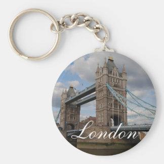 Pont Londres de tour Porte-clé Rond