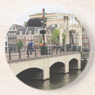 Pont maigre, Amsterdam, Hollande Dessous De Verre