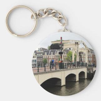 Pont maigre, Amsterdam, Hollande Porte-clés