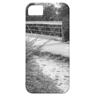 Pont noir et blanc étui iPhone 5