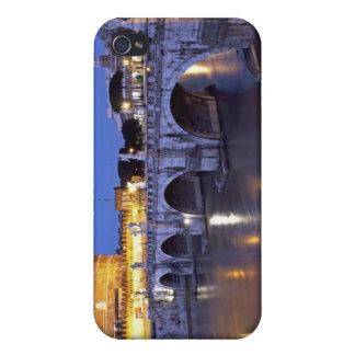 Pont Sant Angelo et Castel Sant Angelo à iPhone 4 Case