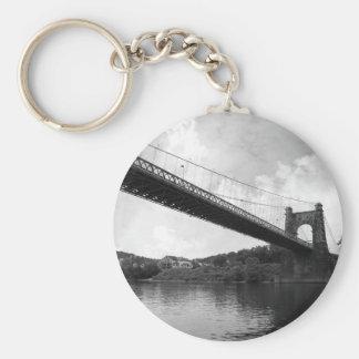 Pont suspendu de roulement B&W Porte-clé Rond
