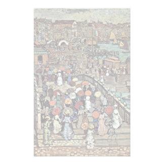 Ponte Della Paglia Venise par Prendergast Maurice  Papiers À Lettres
