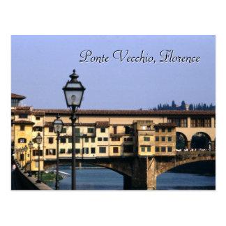 Ponte Vecchio, carte postale de Florence |
