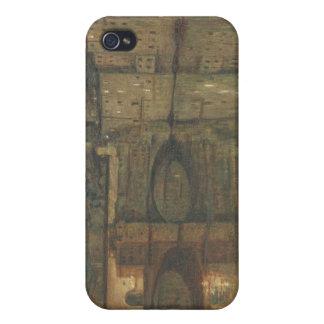 Ponte Vecchio, Florence (huile sur la toile) Coque iPhone 4/4S