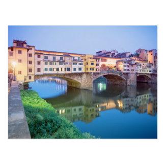 Ponte Vecchio Florence Italie Carte Postale