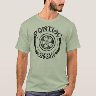 Pontiac 1926 - 2010 obscurité de logo du t-shirt