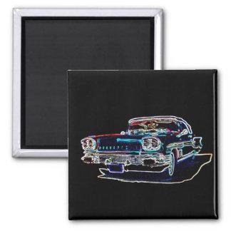 Pontiac 1958 magnets pour réfrigérateur