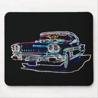 Pontiac 1958 tapis de souris
