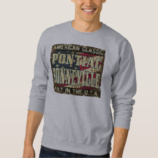 Pontiac Bonneville - drapeau construit aux Sweatshirt