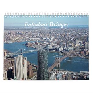 Ponts fabuleux calendrier