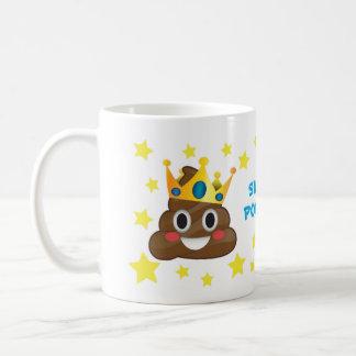 Pooper superbe, le Roi Poo Mug