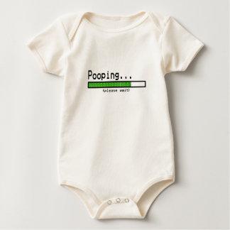 Pooping… Attendez svp Bodies Pour Bébé