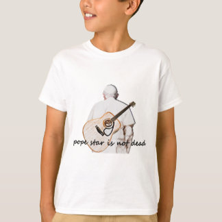 pope star t-shirt