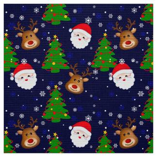 "Popeline 60"" de polyester de tissu de Père Noël"