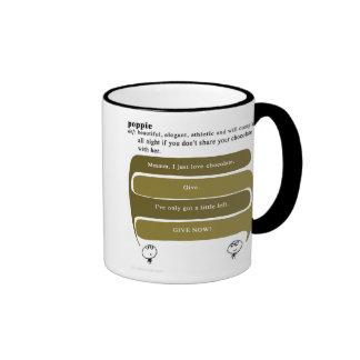 poppie mugs à café