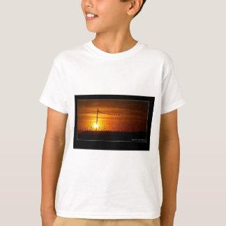 Pôr font le solénoïde t-shirts
