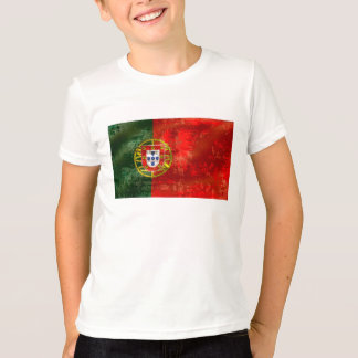 Por vintage Fás De Portugal de Bandeira Portuguesa T-shirt