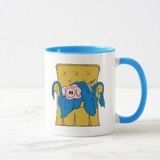 Porc d'abattis dans une couverture mug