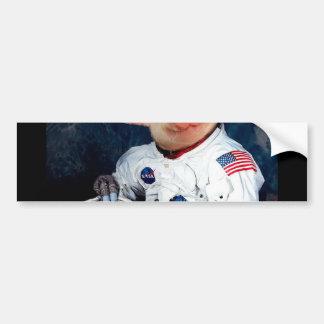 Porc d'astronaute - astronaute de l'espace autocollant pour voiture