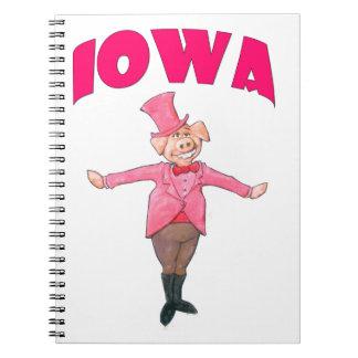 Porc de l'Iowa Carnet