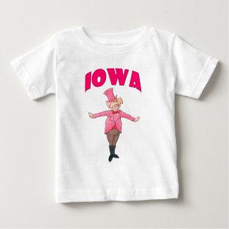 Porc de l'Iowa T-shirt Pour Bébé