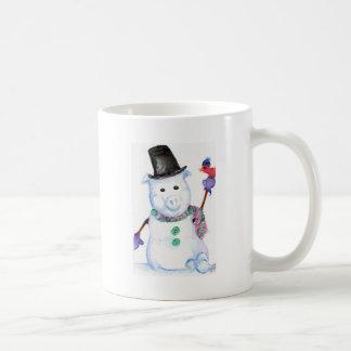 PORC de neige Mug