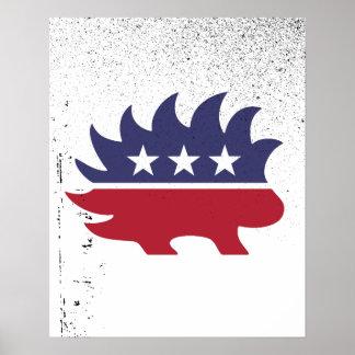 Porc-épic libertaire - - posters