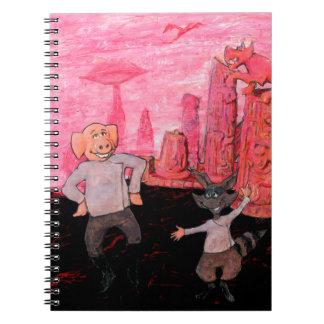Porc et raton laveur sur Mars Carnet