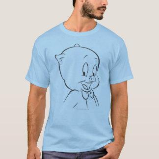 Porc gros 4 expressifs t-shirt