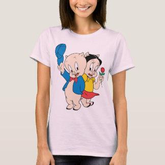 Porc gros et pétunia t-shirt