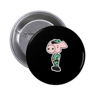 porc militaire de camo pin's