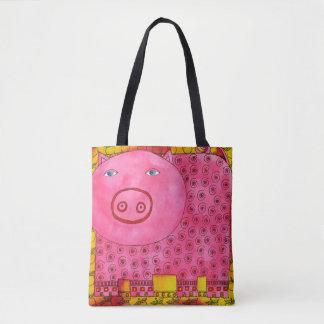 Porc modelé tote bag