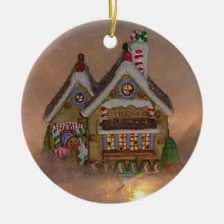 Porcelaine de Chambre de pain d'épice Décoration De Noël