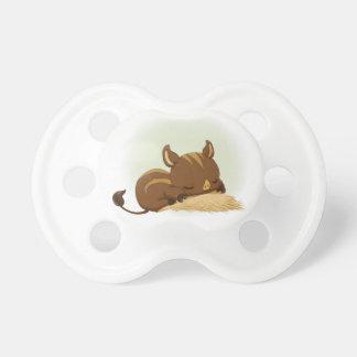 Porcelet mignon de verrat de sommeil tétines