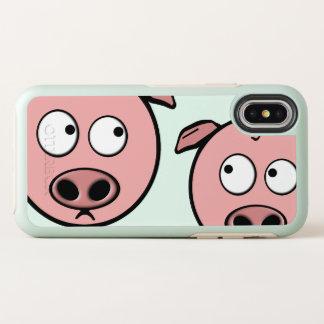 Porcs curieux mignons