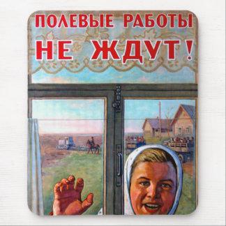 Porpaganda agricole soviétique tapis de souris
