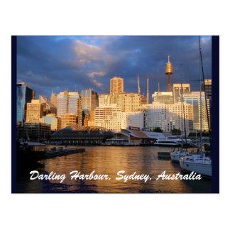 Port chéri, carte postale de Sydney, Australie