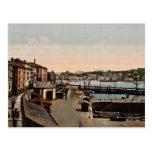 Port, cru Photochrom de San Sebastian, Espagne Carte Postale