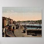 Port, cru Photochrom de San Sebastian, Espagne Posters