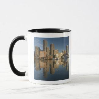 Port de Boston vu de pi POI Mug
